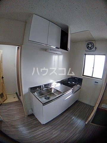 葉月ハイツA 203号室のキッチン