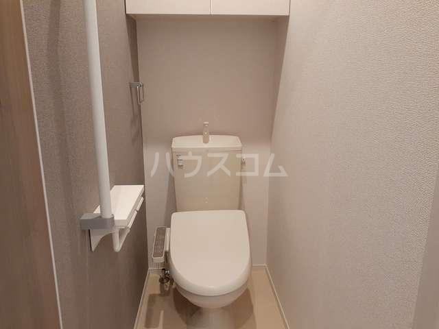 サン・トレイス 03020号室のトイレ