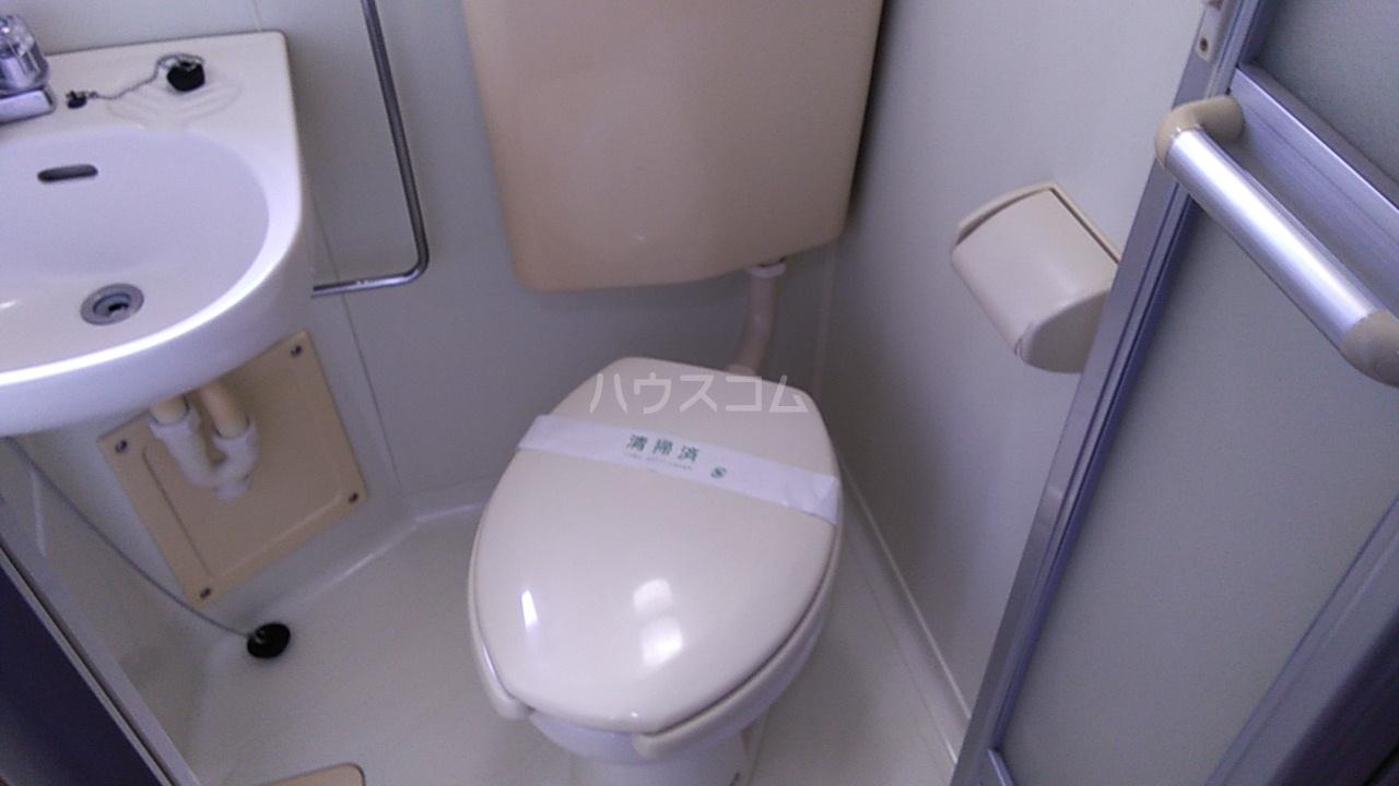 第8笠原ビル 501号室のトイレ