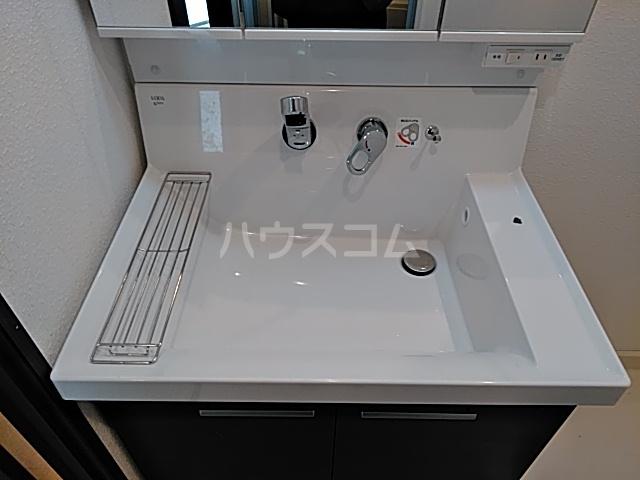 グレイスヴィラ阿部 2B号室の洗面所