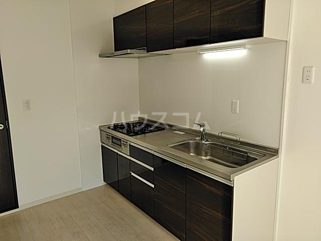 グレイスヴィラ阿部 2B号室のキッチン
