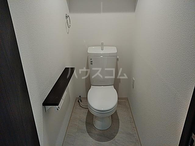 グレイスヴィラ阿部 2B号室のトイレ