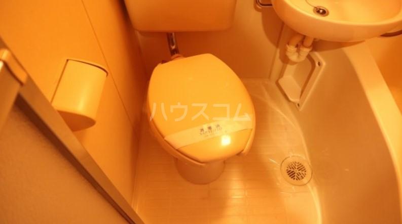 ベイルーム下倉田 1-C号室のトイレ