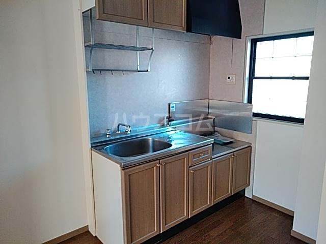 サンプラミー段町 202号室のキッチン