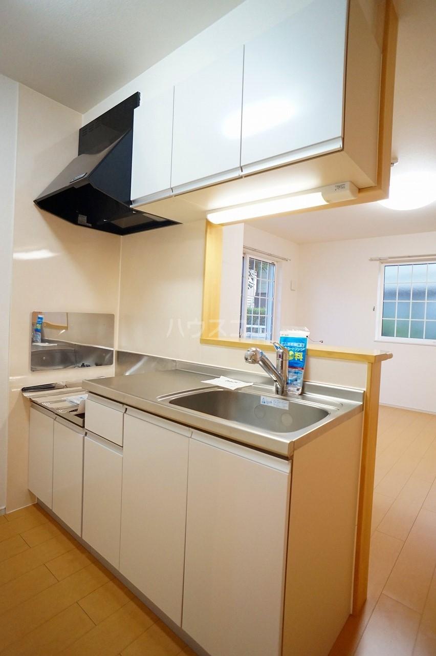 プルミエコート 01010号室のキッチン