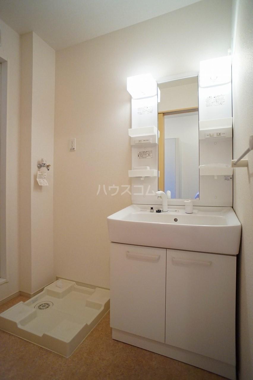 プルミエコート 01010号室の洗面所