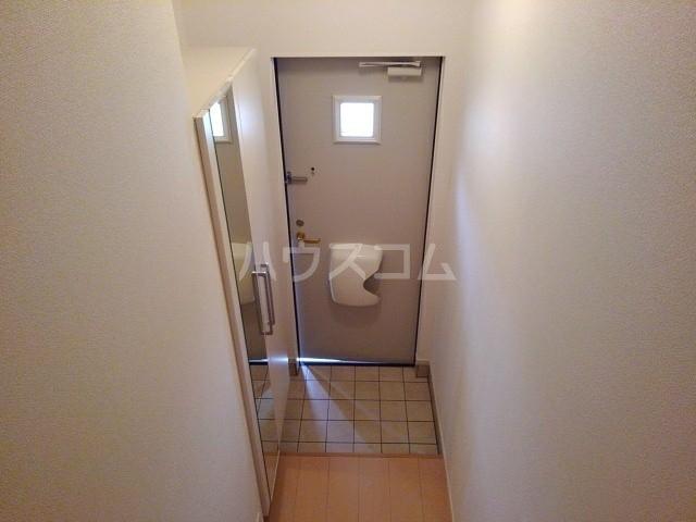 プラシードⅠ 02020号室の玄関
