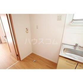 アクアハイム 202号室のキッチン