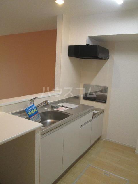 シャルム 01020号室のキッチン