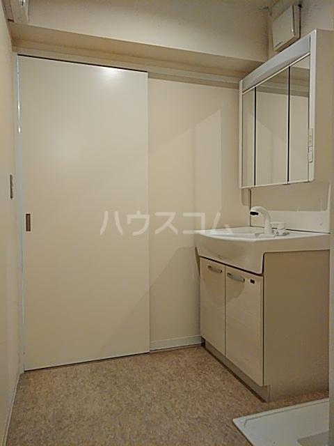 ミストラル 1-B号室の洗面所