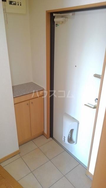 バローネT 02030号室の玄関