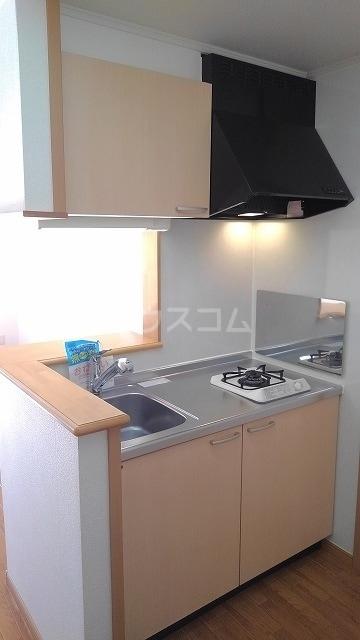 バローネT 02030号室のキッチン