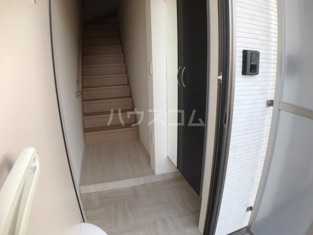 アリエッタ 206号室の玄関
