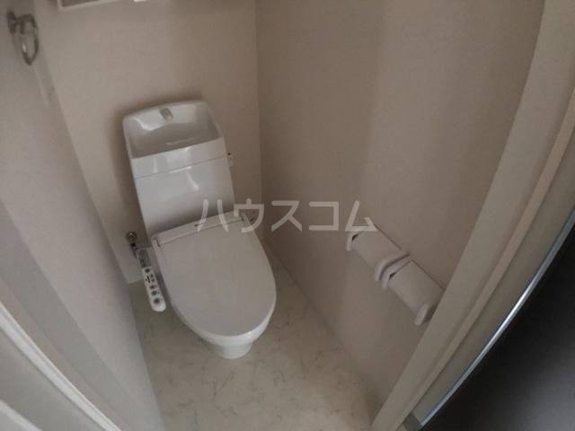 アリエッタ 206号室のトイレ