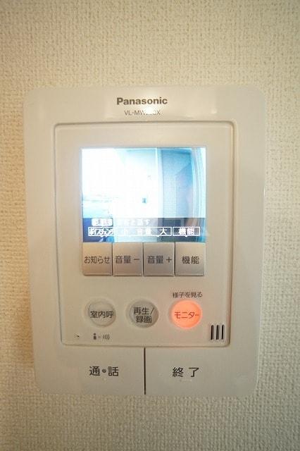 リュミエールレーヴE 02010号室のセキュリティ