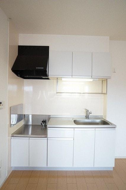 リュミエールレーヴE 02010号室のキッチン