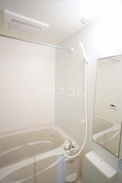 リュミエールレーヴE 02010号室の風呂
