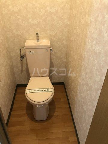 メゾン庄名2 305号室のトイレ
