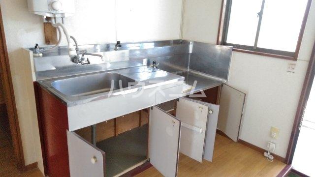 コーポナカイ Ⅰ 205号室のキッチン