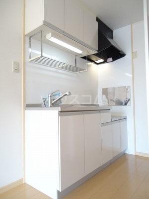 リバーサイドK 01050号室のキッチン