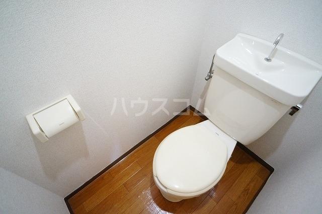 グリーンヒルズなかの 01010号室のトイレ
