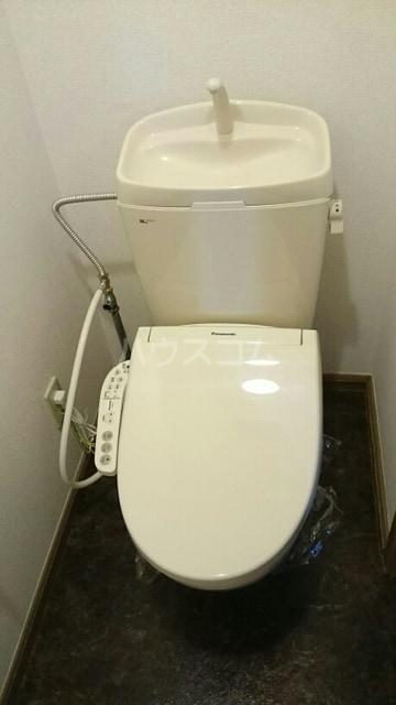 ドリームビレッジ2 02010号室のトイレ