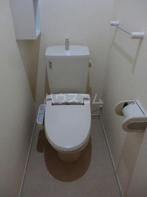 ブランネージュⅠ 02010号室のトイレ