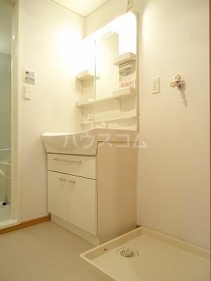 ブリーズA 01010号室の洗面所