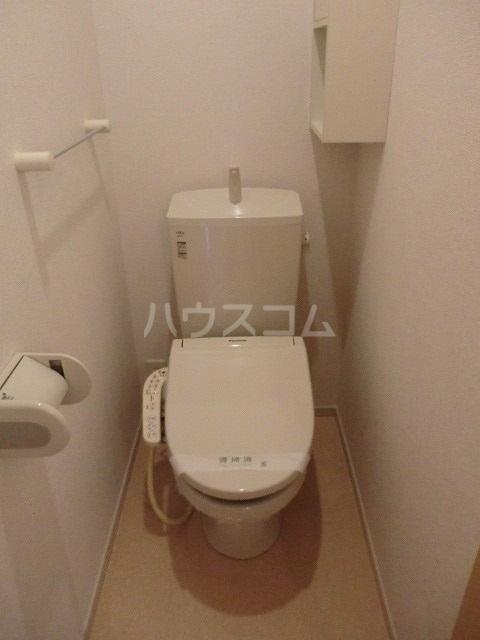メゾン・スフレⅠ 01030号室のトイレ