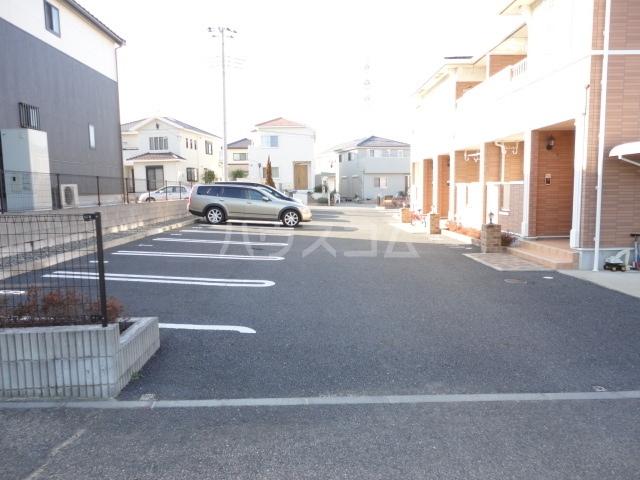 フルール・ド・リスⅠ 02030号室の駐車場