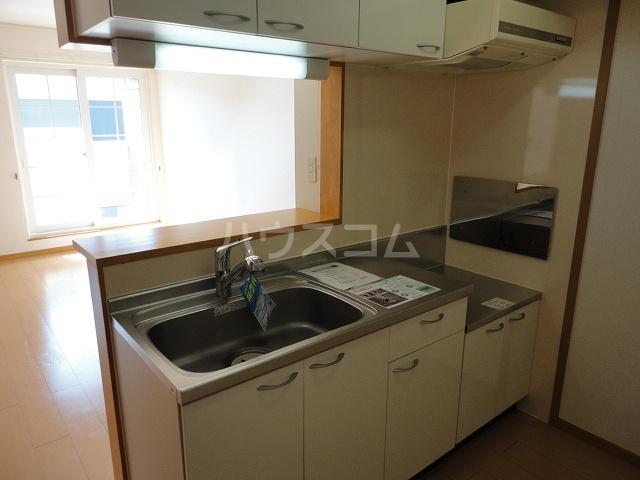 フルール・ド・リスⅠ 02030号室のキッチン