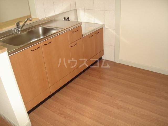 molti 201号室のキッチン