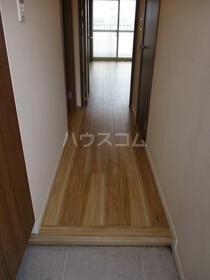 大島住宅 1010号室のバルコニー