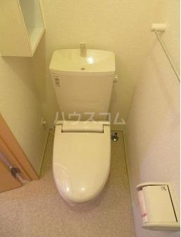 ルーエ・S 01010号室のトイレ
