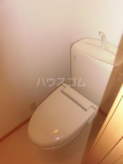 アルピン ヒルB 02020号室のトイレ
