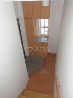 アルピン ヒルB 02020号室の玄関