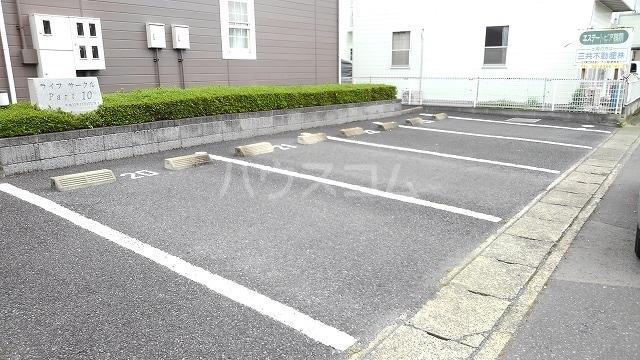 ライフサークルパ-ト10 01010号室の駐車場