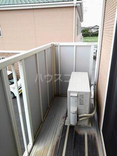 パール・カーサB 02010号室のバルコニー