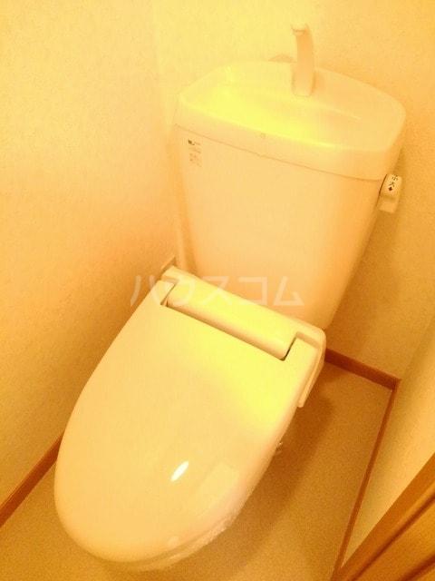 パール・カーサB 02010号室のトイレ