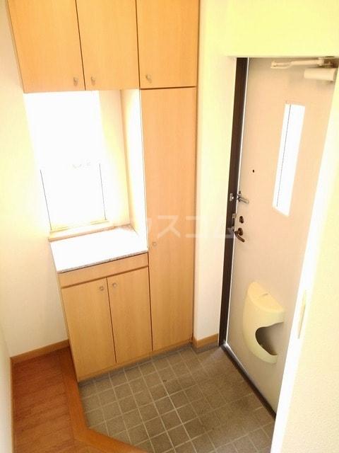パール・カーサB 02010号室の玄関