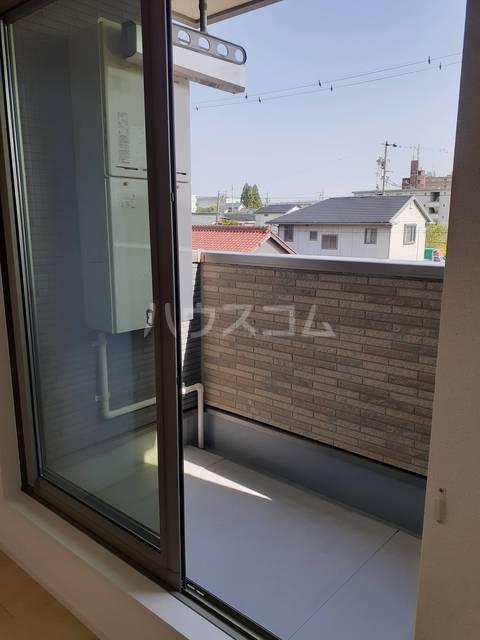 パークサイドK.S.S A 02050号室のバルコニー