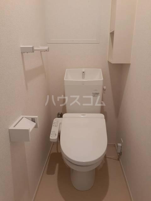 パークサイドK.S.S A 02050号室のトイレ