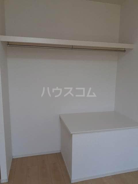 パークサイドK.S.S A 02050号室の収納