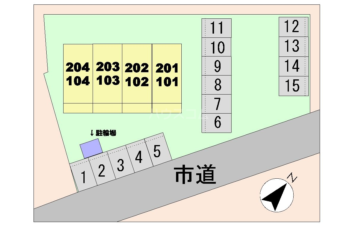 One R 22629 01020号室のトイレ