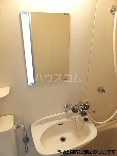 ドミール横山 02060号室の洗面所