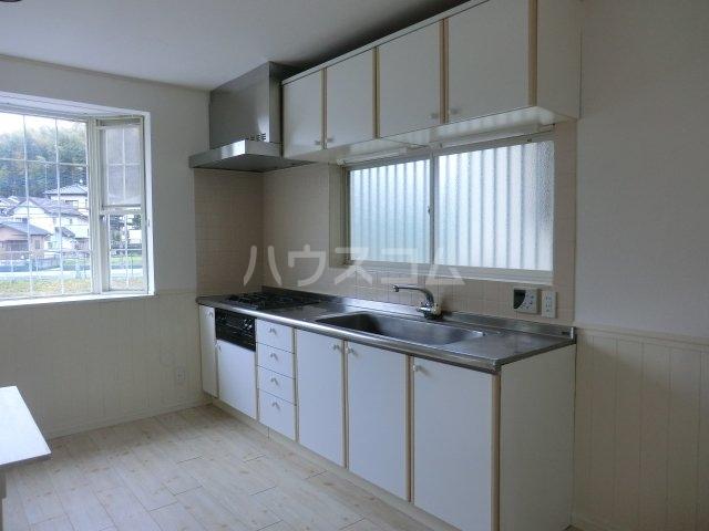 根木名パークサイドハウス 1号室のキッチン