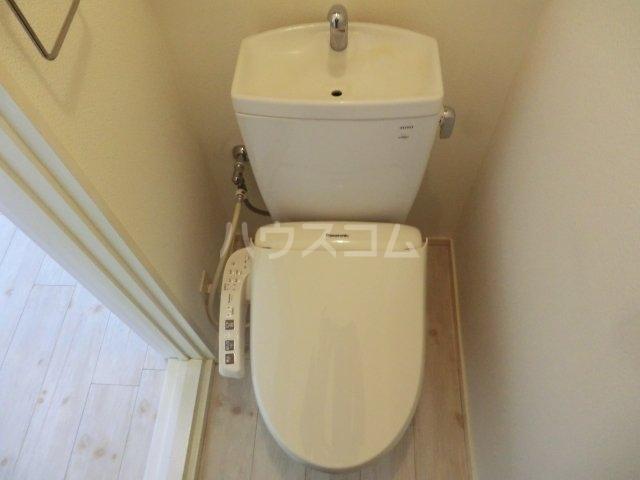 根木名パークサイドハウス 1号室のトイレ