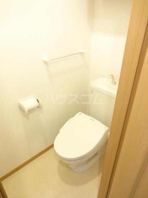 ランテマリオ アルバ 01010号室のトイレ