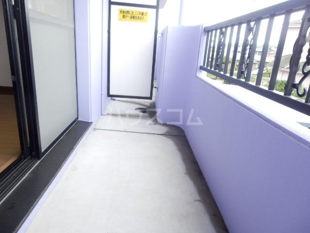 ベル・ヴィンテージ 203号室のバルコニー