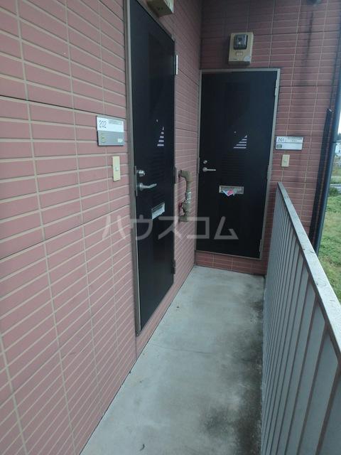 シェルコート井野 206号室のバルコニー